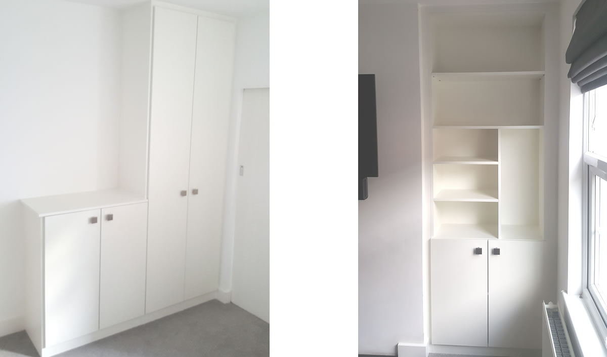 Wardrobe, Wallbed, Wall Cupboards Units And Shelves